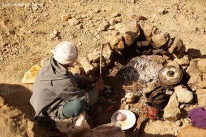 Cocina de campaña Marruecos