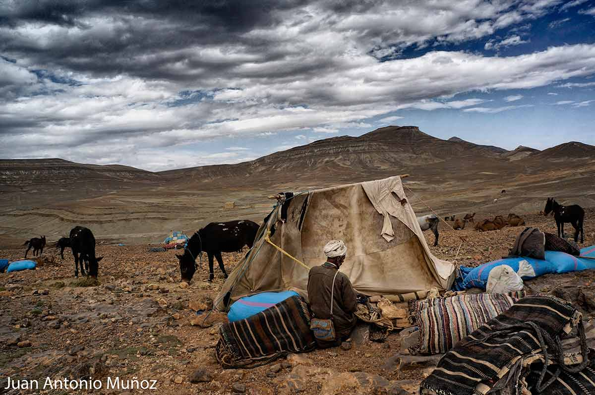 Campamento bereber Marruecos