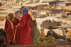 Colores en el mercado de Imilchil Marruecos
