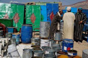 Cacharrería en Imilchil Marruecos
