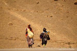 Transhumantes del Alto Atlas Marruecos