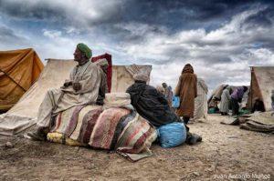 Ambiente de mercado Imilchil Marruecos
