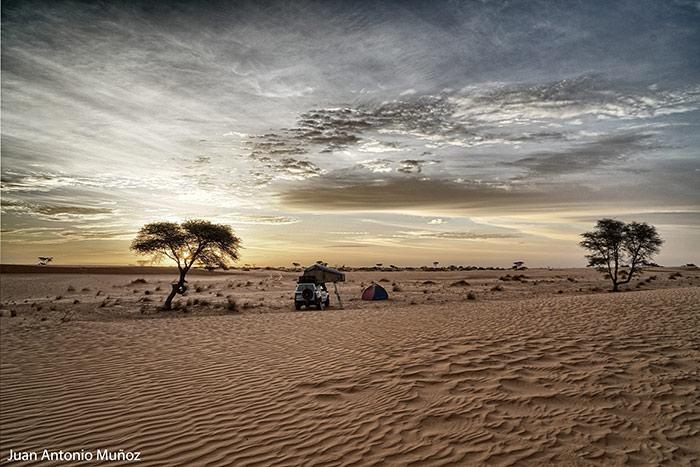 Camp en Azzefal Mauritania