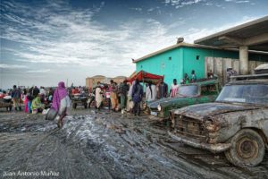 Coches del puerto de Nouakchott