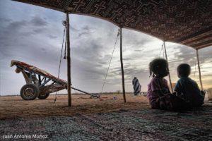 Vida bajo la jaima. Mauritania