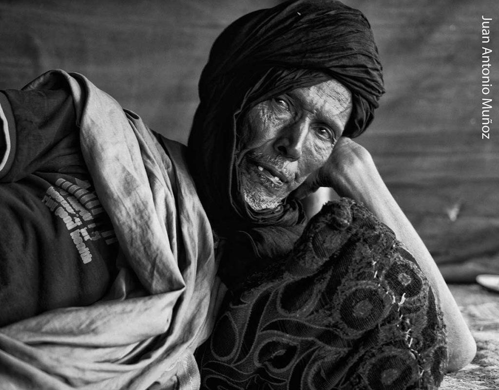 Bajo la jaima. Mauritania