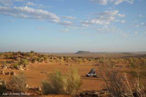 Campamento en la inmensidad. Mauritania