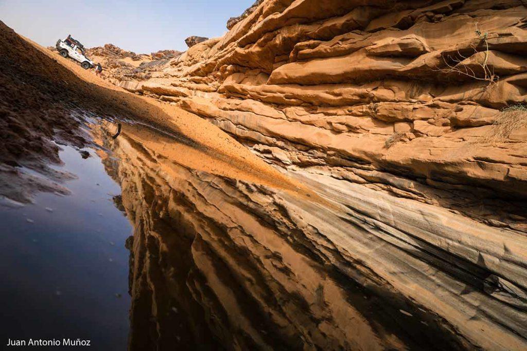 El guelta. Mauritania
