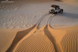 Huellas en la arena. Mauritania