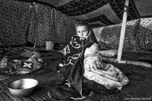 Mirada bajo la jaima. Mauritania