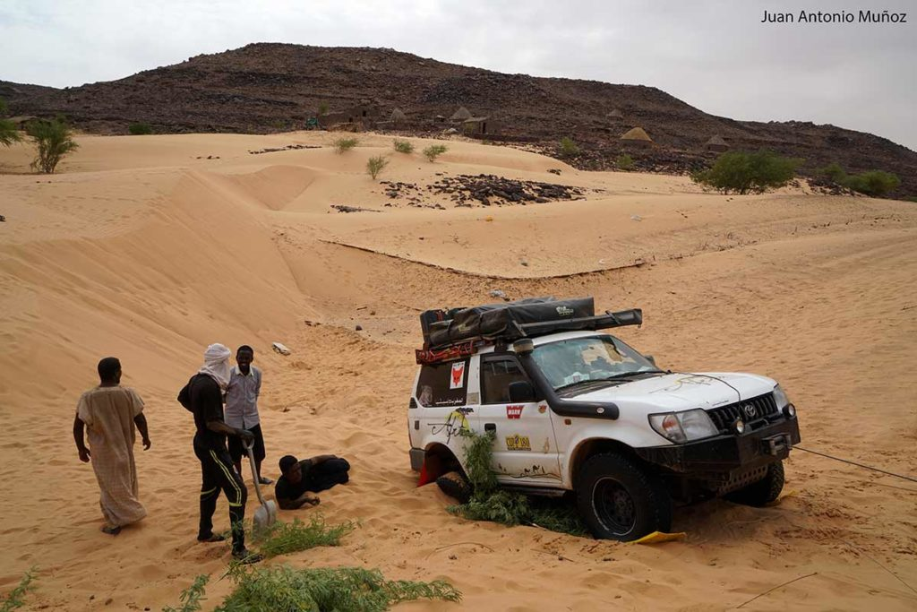 Desatascando. Mauritania