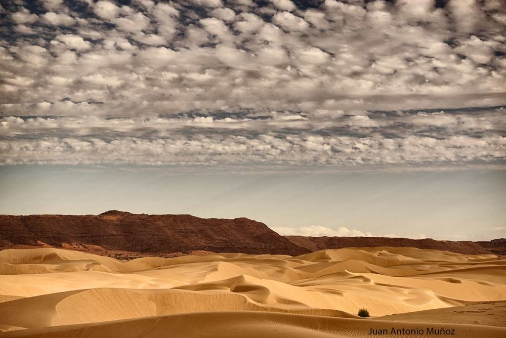 Nubes y dunas. Mauritania