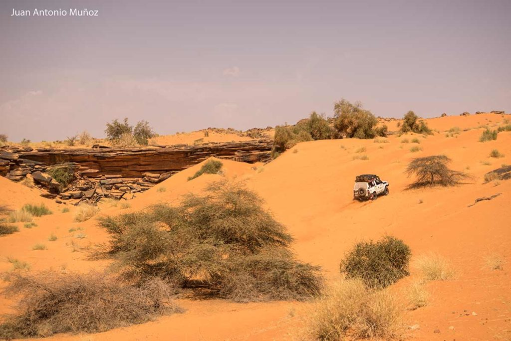 Atacando la duna. Mauritania