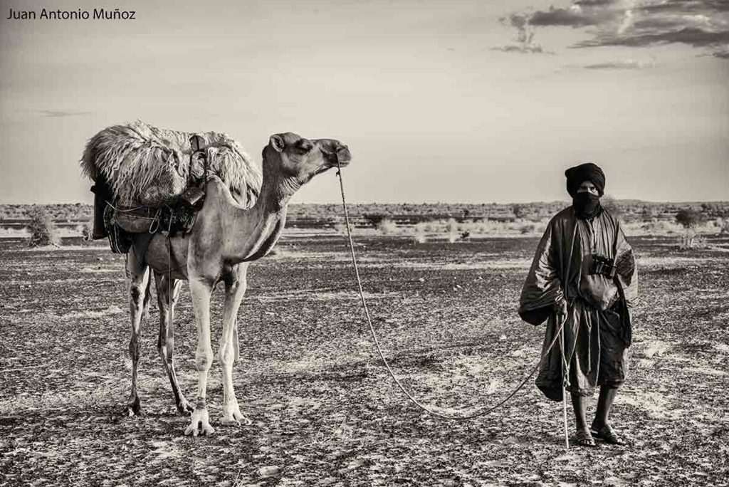 Camellero. Mauritania