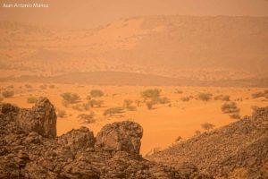 La tormenta de arena. Mauritania
