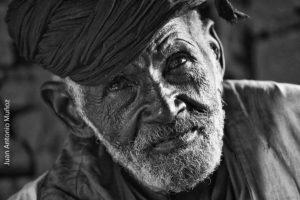 Maura anciano. Mauritania