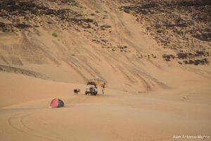 Campamento en el Adrar. Mauritania