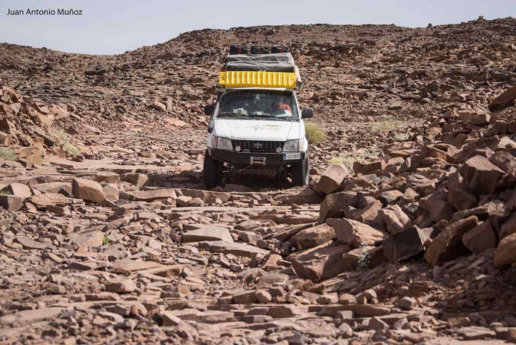 Terreno rocoso. Mauritania