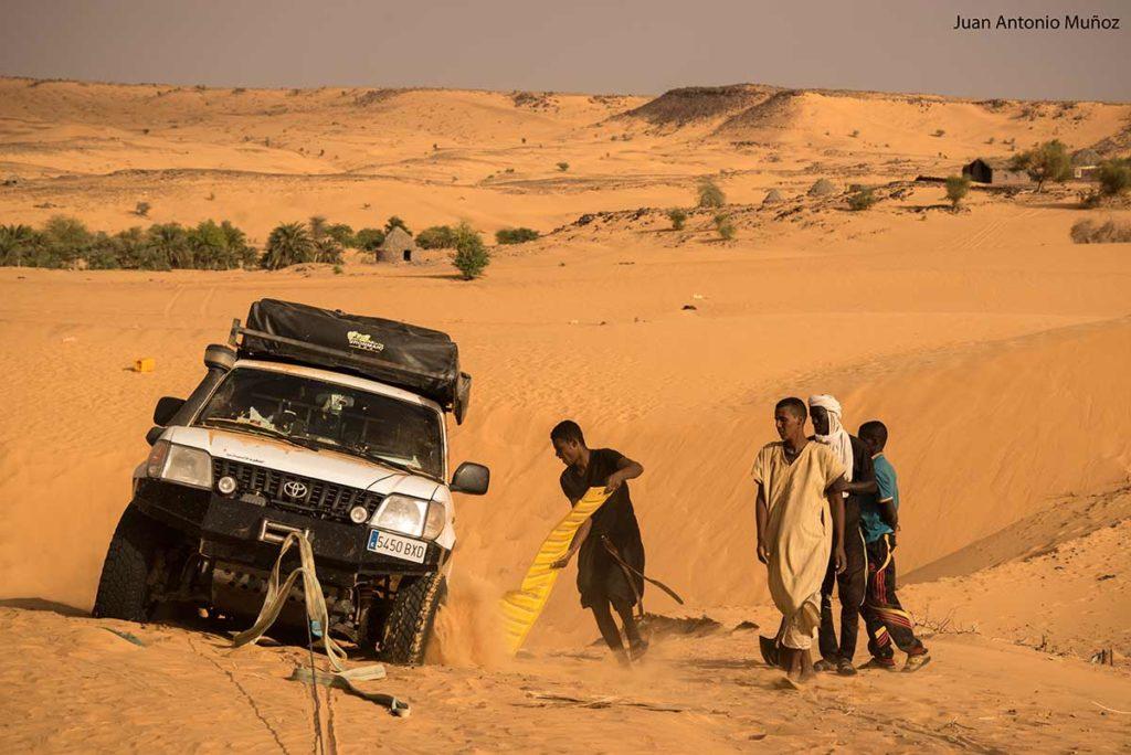 Ayuda del pueblo. Mauritania