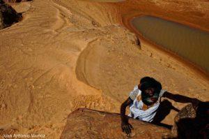 Buscando cocodrilos. Mauritania
