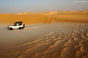 Sobre el mar de arena. Mauritania