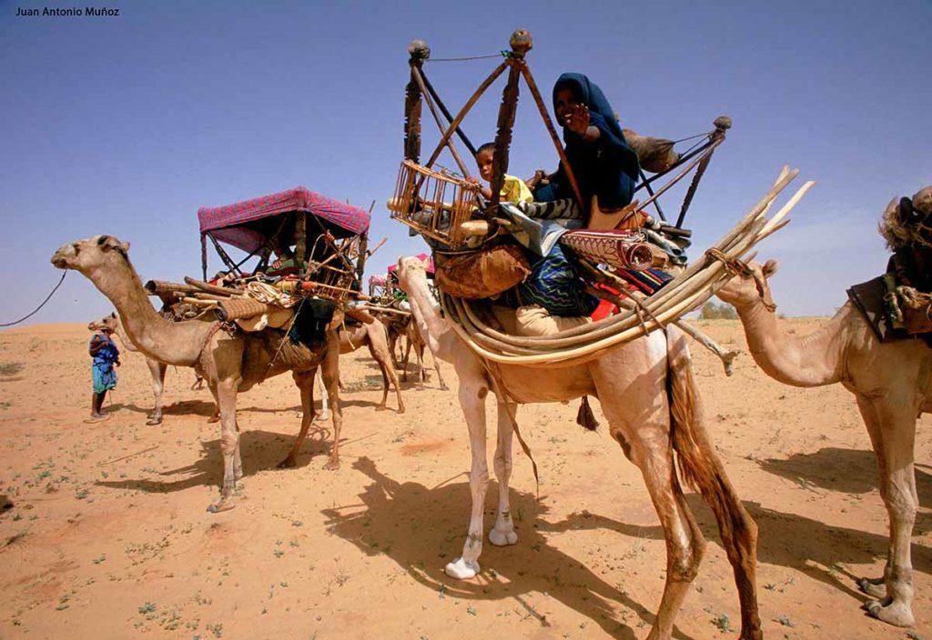 Caravana en Mauritania