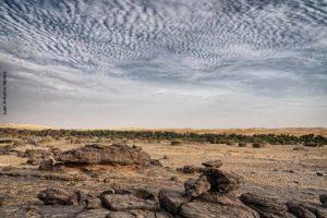 Pueblo abandonado. Mauritania
