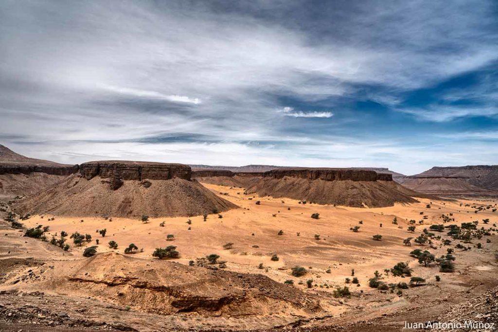 Paisaje del Adrar. Mauritania