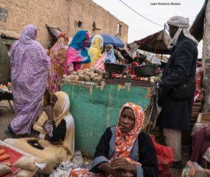 Mercado Atar. Mauritania