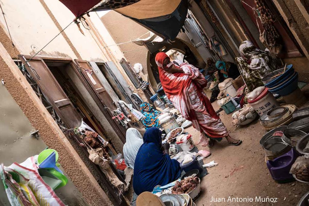Mercado de Atar. Mauritania
