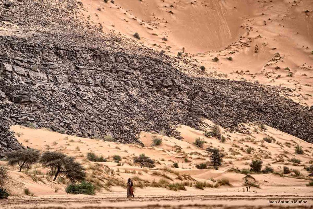 La mujer y el desierto. Mauritania