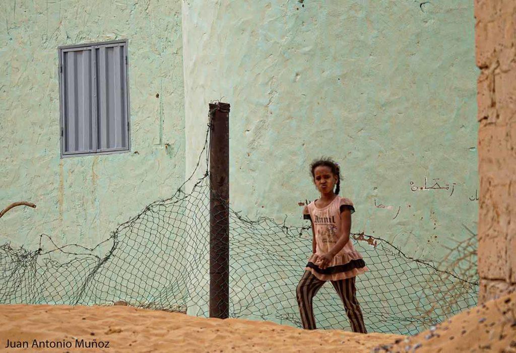 Niña en Atar. Mauritania
