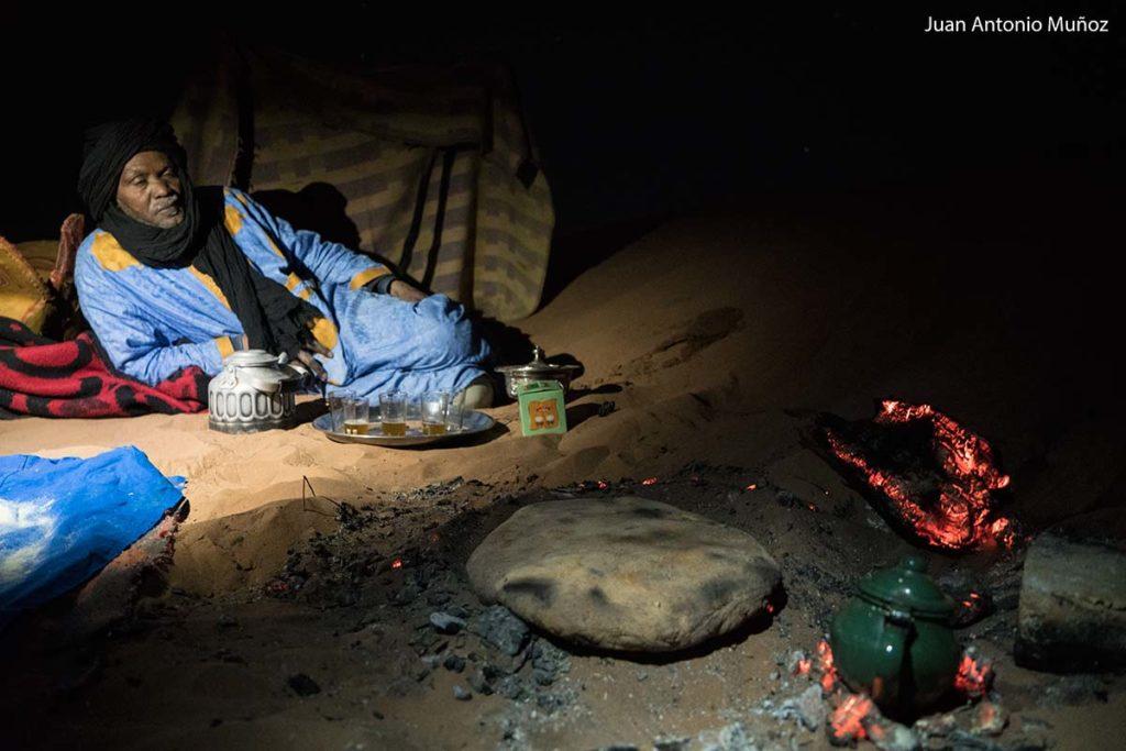 Pan en la arena. Marruecos