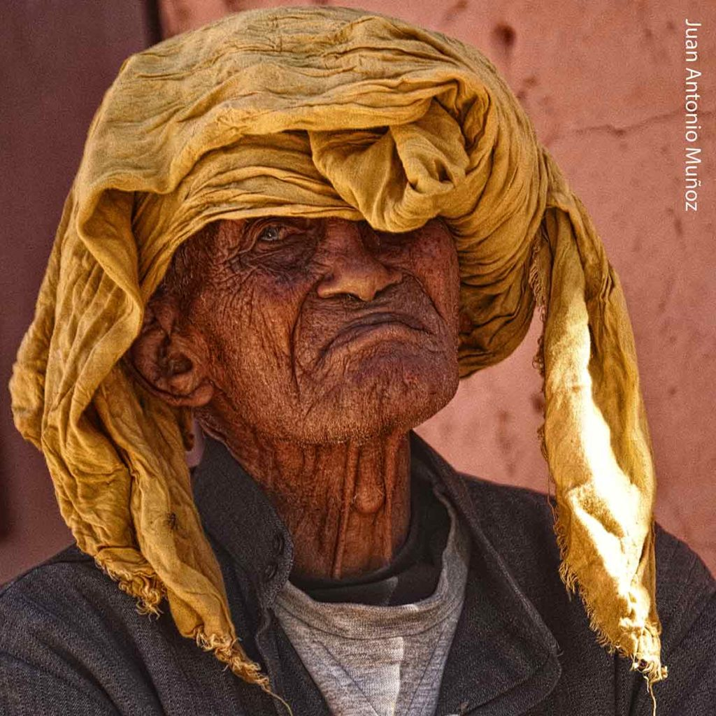 Caravanero Nesrate. Marruecos