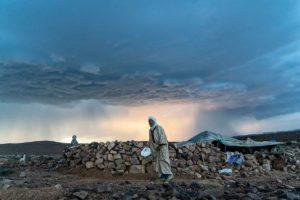Rayo en la jaima. Marruecos