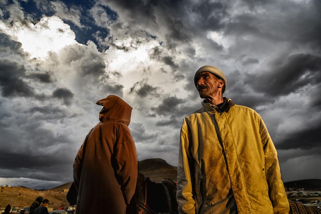 Luces del mercado. Marruecos