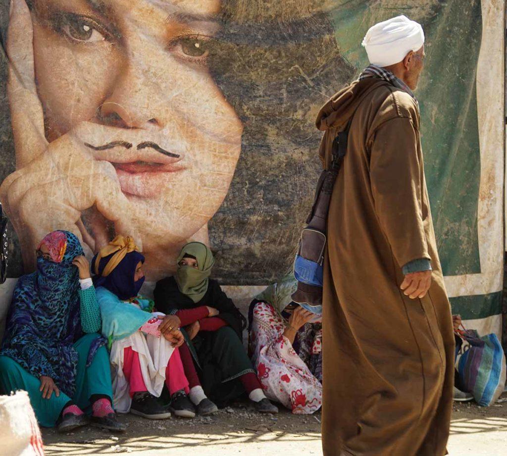 Contrastes en mercado. Marruecos