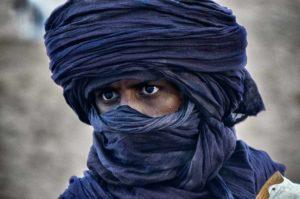 Mirada camellero. Marruecos