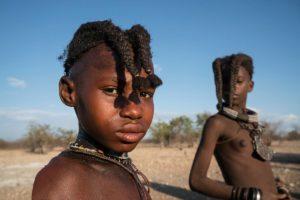 Peinados Himba. Namibia