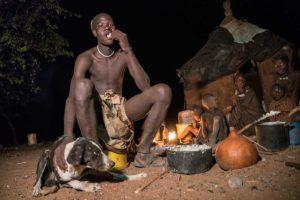 Cena en el fuego. Namibia
