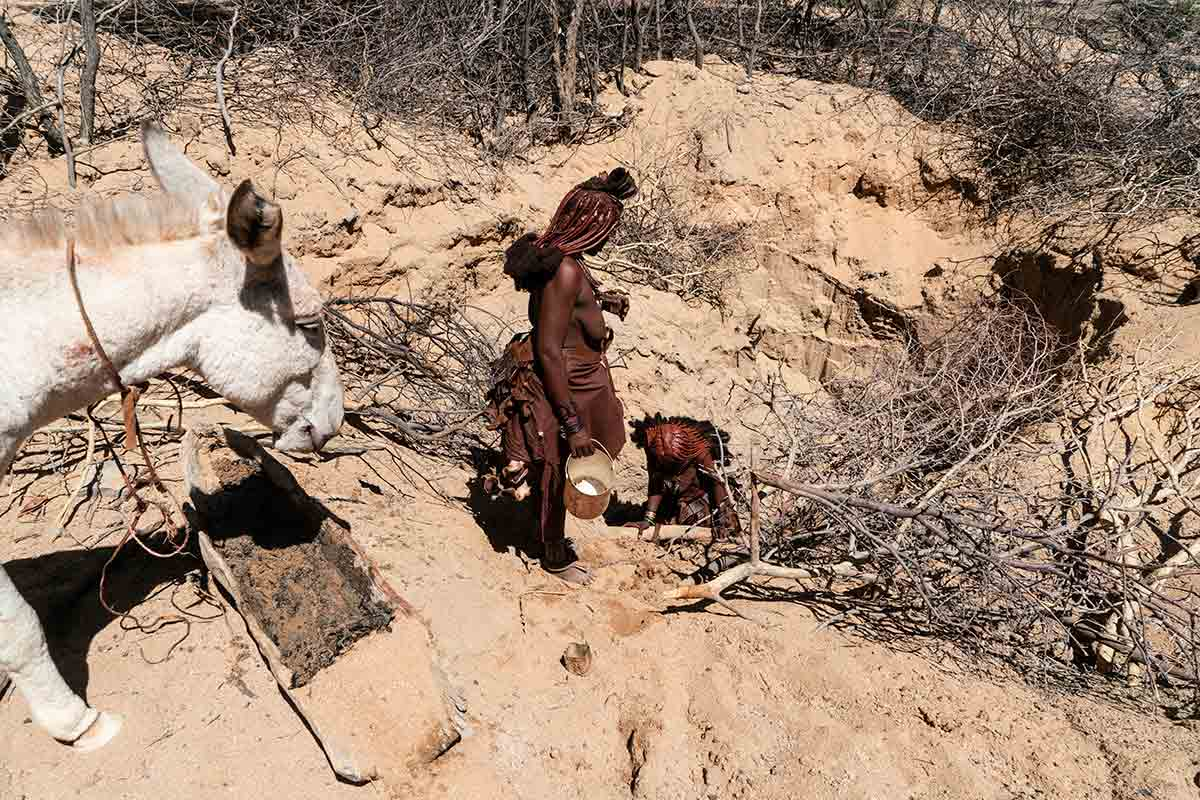 Pozo Himba. Namibia