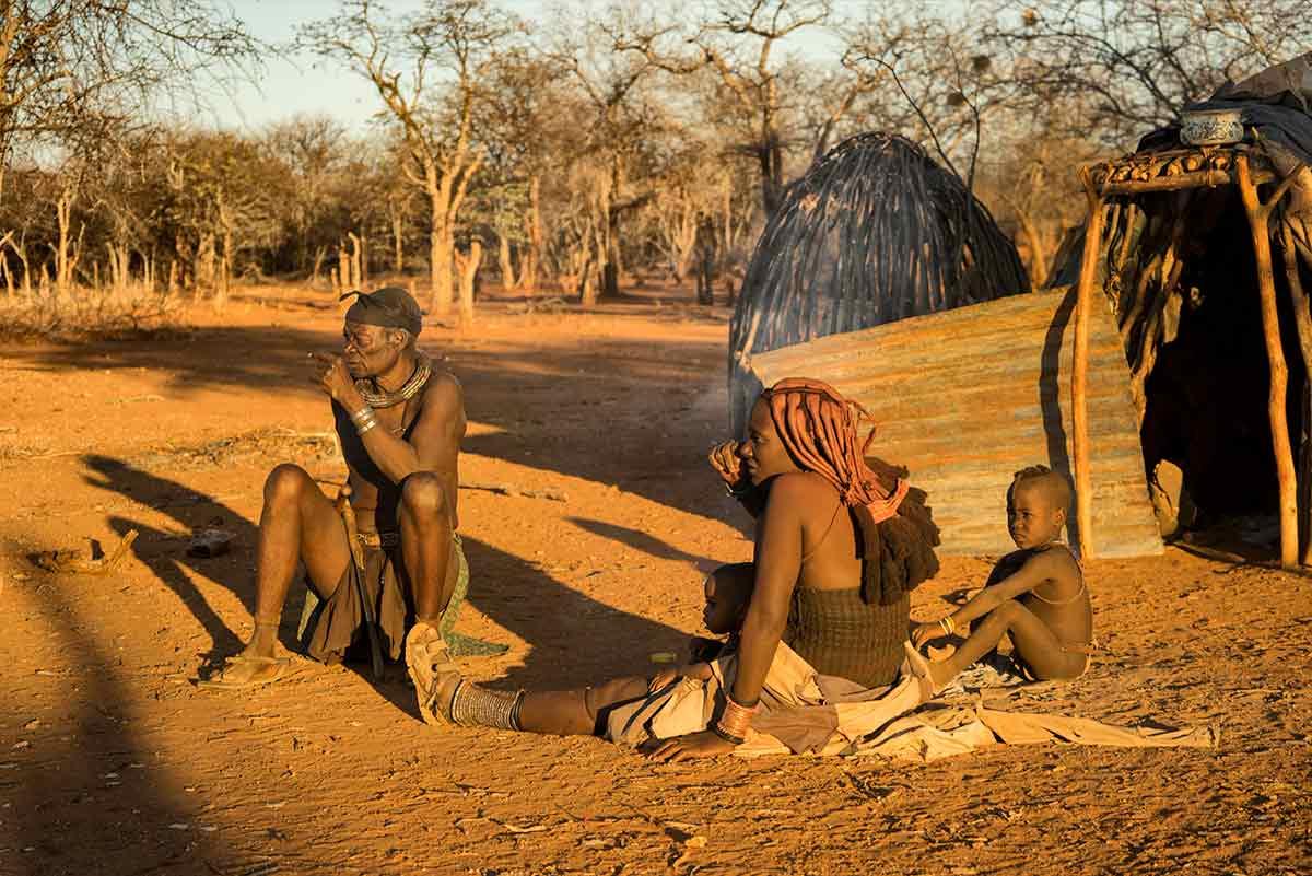 Familia Himba. Namibia
