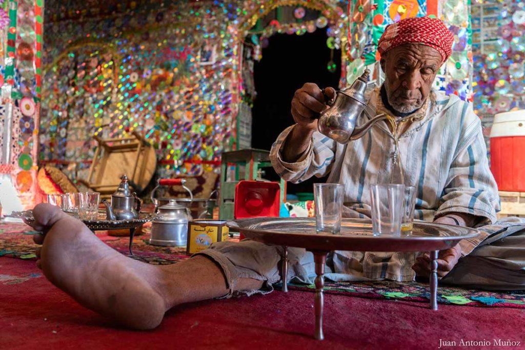 Té en casa señor CD. Marruecos