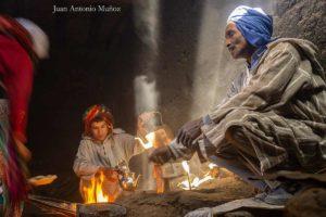Té en casa de Samira. Marruecos