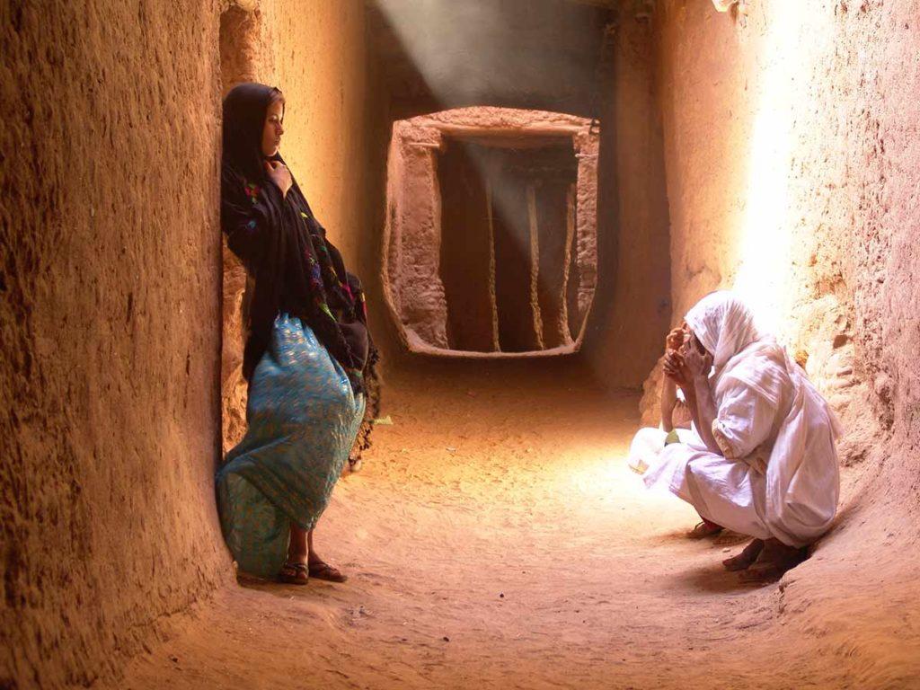 Calle de Mhamid. Marruecos