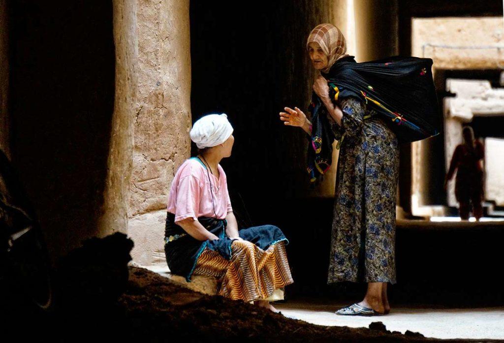 Mujeres de charla. Marruecos