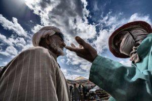 Discutiendo precio. Marruecos
