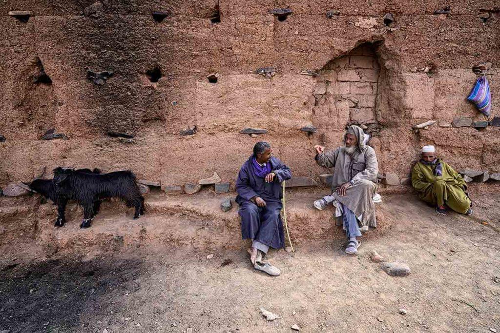 El muro de las cabras. Marruecos