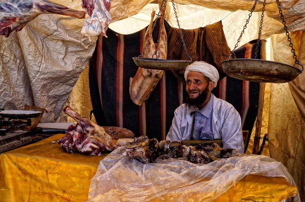 Carnicero. Marruecos
