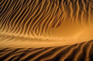 Avalancha en dunas. Marruecos
